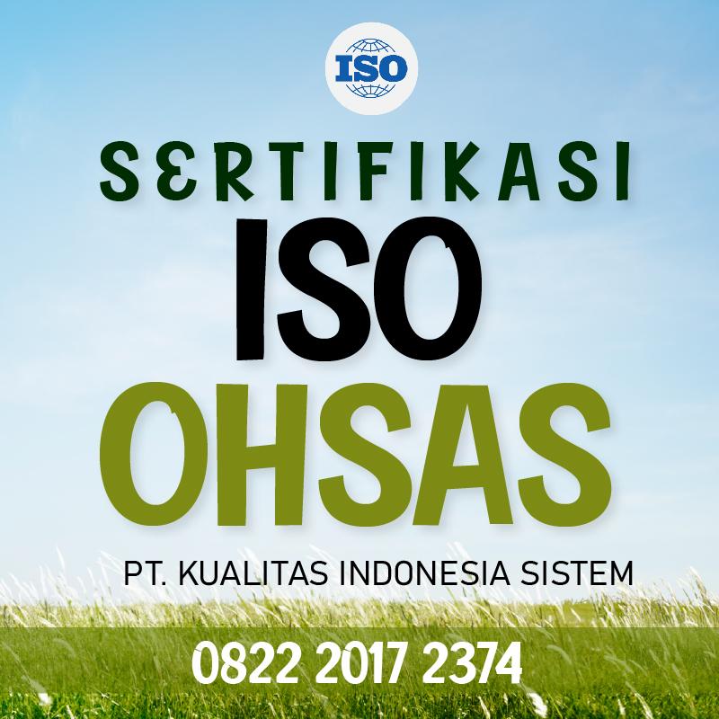 Sertifikasi ISO OHSAS
