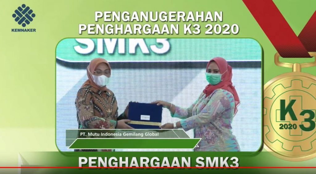 Penghargaan SMK3