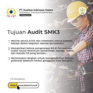 Tujuan Audit SMK3
